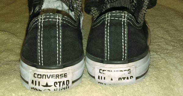 Mismatched Converse I've been wanting to do this for