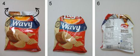 The Chip Bag Fold Chip Bag Folding Chip Bag Chip Bags