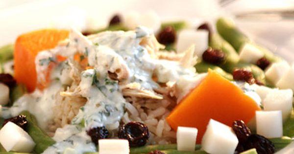 Salada De Arroz Integral E Frango Receita Salada De Arroz
