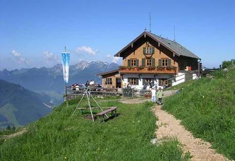 Touren in den Alpen Die schönsten Hütten, Hochgernhaus