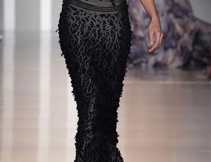 Stunning. Black Dress Fashion Style