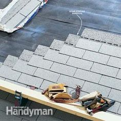 How To Shingle A Roof Roof Repair Diy Diy Roofing Roof Shingles