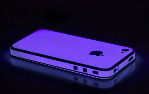 iphone 5s glow in the dark case glow purple for iphone 4 4s wrap iphone 6 cases 20486
