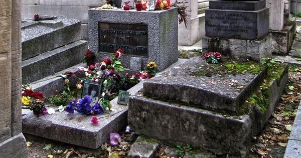 Jim Morrison (1943-1971) ~ Jim Morrison's gravesite has ...