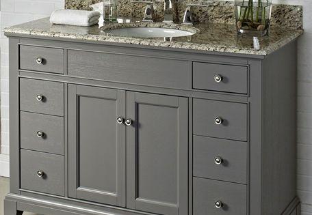 George Morlan Plumbing 48 Vanity Fairmont Designs Bathroom Pinterest Models Grey