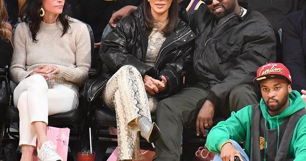Kim Kardashian And Kanye West Head To Staples To Watch Khloe Ex Play In 2020 Kim Kardashian And Kanye Kim And Kanye Kim Kardashian Kanye West