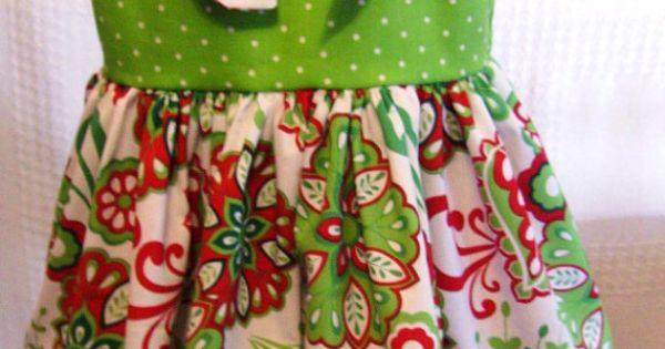 Christmas print knot dress and christmas dresses on pinterest
