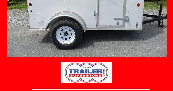 Car Mate 5 X 8 5 V Nose Enclosed Cargo Trailer Cargo Trailers Enclosed Cargo Trailers Enclosed Trailers