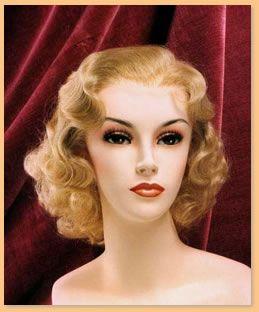Period Wigs: 1930's Women's   1930s hair,