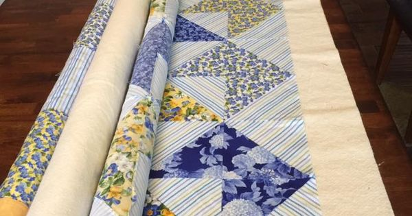 Before using this method I struggled with my quilt ...