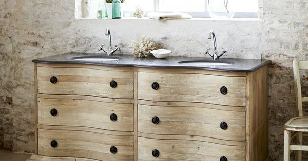 soldes meuble de salle de bain la redoute achat meuble hermione tikamoon avec double vasque en. Black Bedroom Furniture Sets. Home Design Ideas