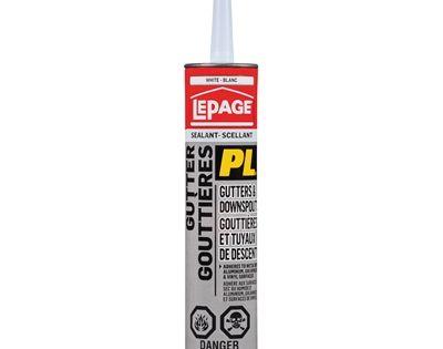 Lepage Caulk 1795446 10 Oz Gutter Seal Sealant Sealant Caulk Vinyl Gutter