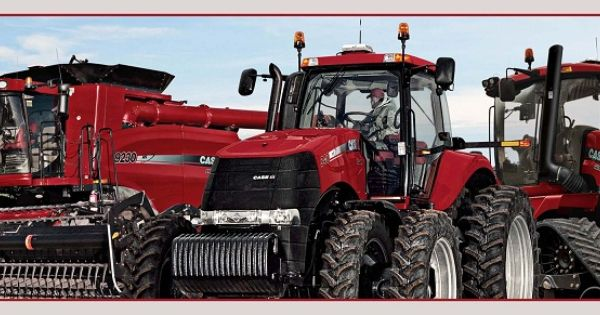Caseih tractors and equipment line up wallpaper border - Farmall tractor wallpaper border ...