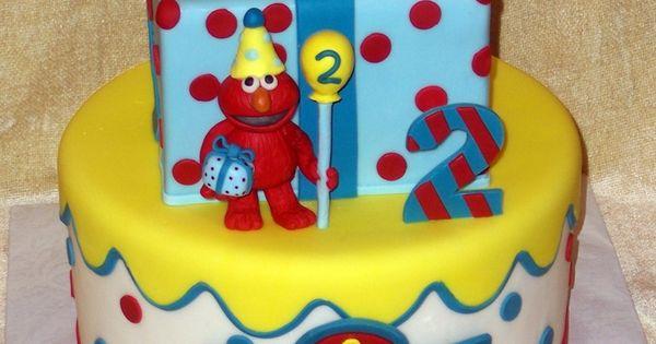 Elmo cake, Lil baby and Red velvet cakes on Pinterest