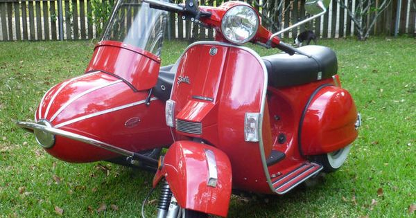 Stella scooter with sidecar that 39 s so me pinterest for Motor scooter dealers near me
