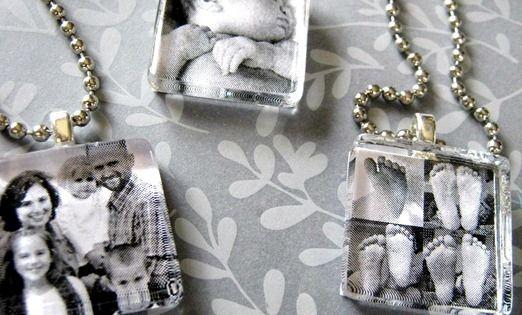 More gift ideas... DIY photo pendant tutorial