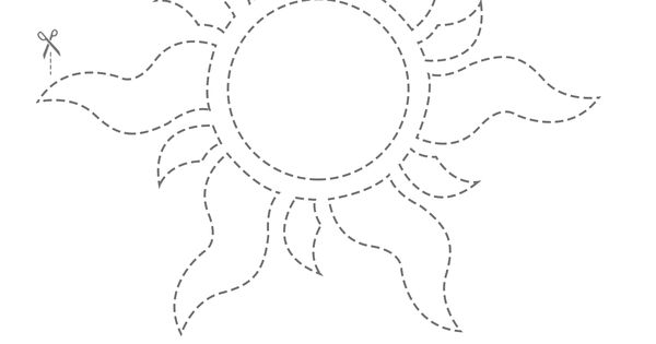 Tangled Golden Sun Flower Pot Creativity Tower And