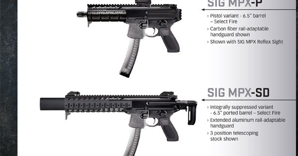 sig sauer machine guns