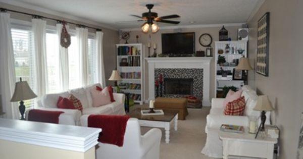 Fireplace idea for mine :D | Fireplaces | Pinterest ...