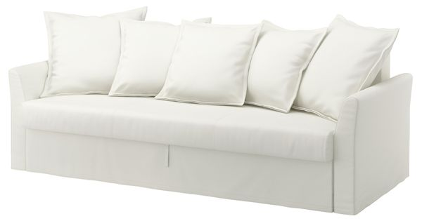 Ikea holmsund divano letto a 3 posti ransta bianco for Divano hermes