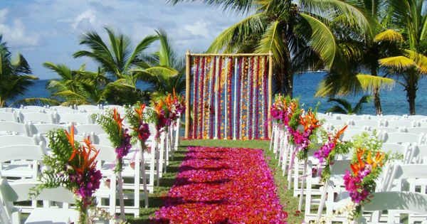 Explore The Beauty Of Caribbean: Cliff View Location St Lucia Wedding Www