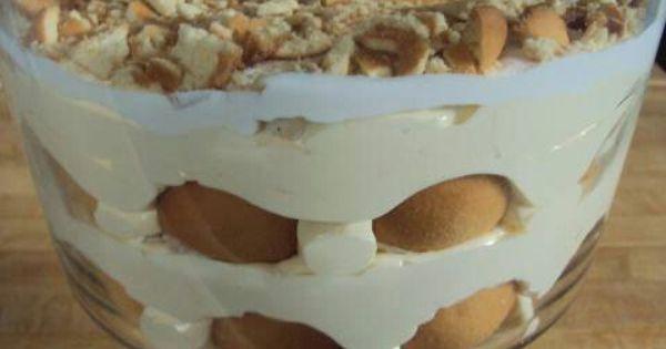 Banana Pudding  Yummy Pinterest Puddings And