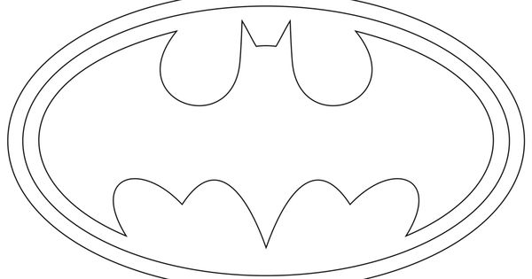 batman logo cake template - batman logo outline heroes marvel dc comics ect