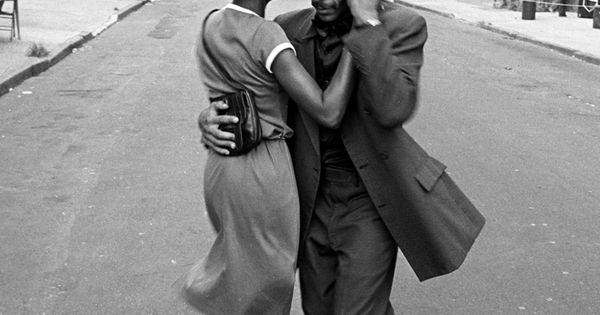 Dancers, Mott Haven, August 1979, from the Faces in the Rubble series