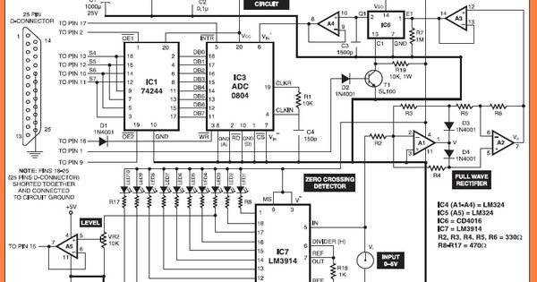oscilloscope circuit diagram  u2013 powerking co