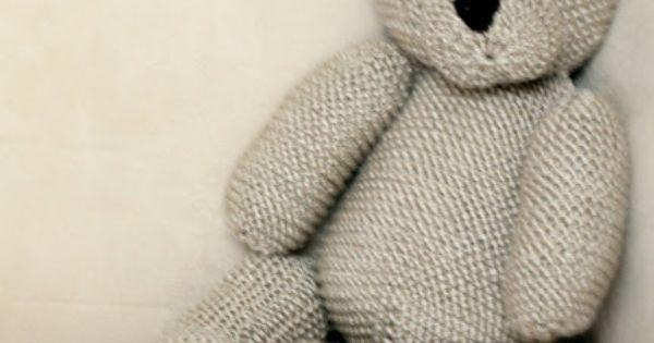 Knitting Pattern For Koala Bear Mittens : Knitted Teddy Bear Amiguruami Pinterest Stickat och Inspiration