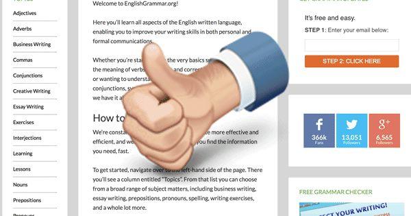English grammar, Grammar and English on Pinterest