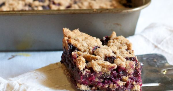 Blueberry CobblerBars