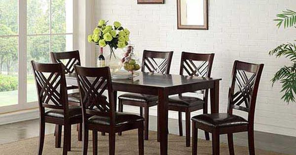 At Rent A Center The Standard Staten 7 Piece Dining Set Features