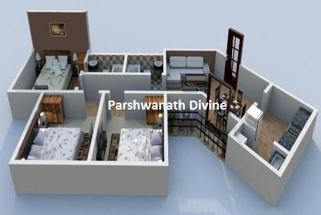Buy Lowest Price 1 2 Bhk Luxury Apartments In Ahmedabad At Parshwanath Atlantis Park Possession Ready Lux Residential Apartments Apartment Luxury Apartments