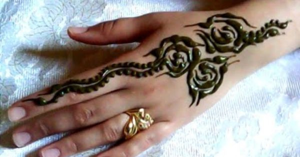 نقش بسيط بالحناء سهل و خفيف Best Henn Design Simple Mehndi Designs Mehndi Designs Mehndi Simple
