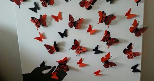 Id e tableau papillon craft pinterest for Koi papillon
