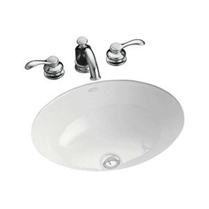 Kohler K2205 0 Caxton Undermount Style Bathroom Sink White