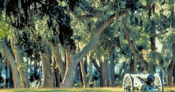 Fort Mcallister Historic Park In Richmond Hill Georgia