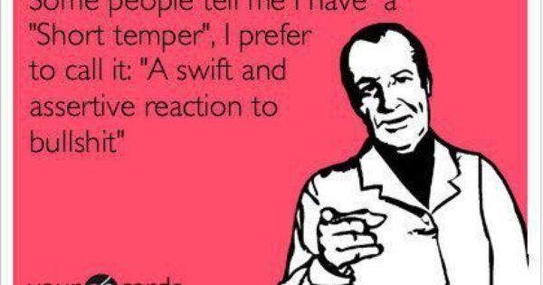 haha. Well said.