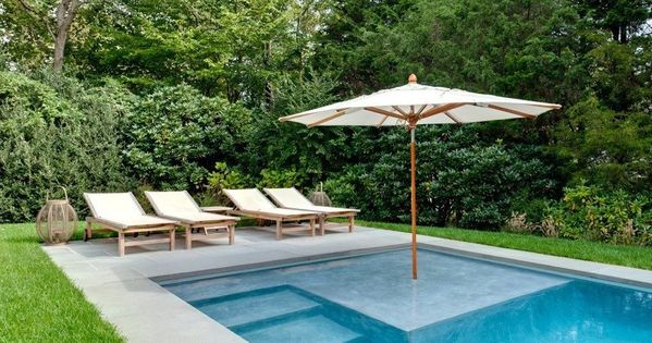 Here are the latest trends in hamptons pool design pool for Pool design trends