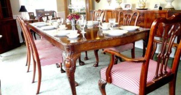 Mahogany Dining Room Sets Delectable Inspiration