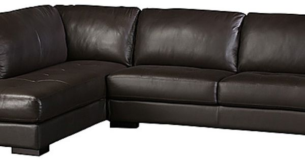 Boone Leather Sofa Chaise Sofas Plus Sectionals Living Room Furniture Products Urban