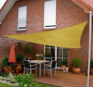 New 10ft Sun Sail Shade Triangle Outdoor Canopy Patio Garden Shade Cloth Patio Patio Shade Patio Sun Shades