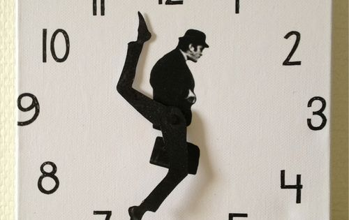 Ministry of Silly Walks Wall Clock by Susanne Lindberg: for Monty Python's