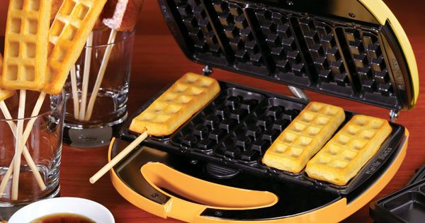 Waffle and French Toast on a Stick Maker - LIKE and REPIN