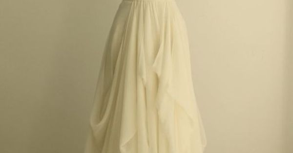 Organza Soft Silk Sweetheart Pleated Column Wedding Dress. But with a sheer