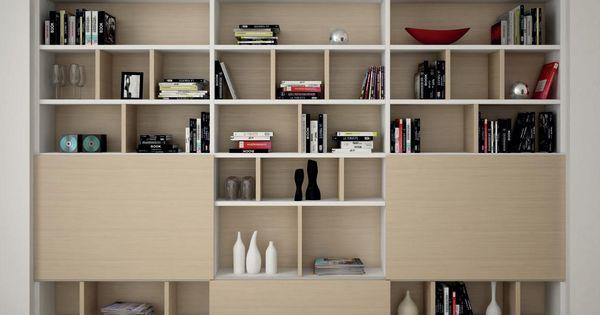 Kast met verschillende vakken idee voor slaapkamerzijde for Interieur stylist gezocht