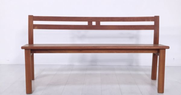 Sturdy Simplicity Bench From The Owner Beautiful Thomas Mosher Wooden Bench With Touch Of Asian Design Light Wear Assoc Wooden Bench Bench Asian Design