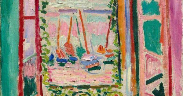 Henri matisse fen tre ouverte sur collioure t 1905 for Matisse fenetre ouverte