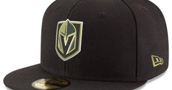 Vegas Golden Knights New Era Nhl Basic 59fifty Cap Vegas Golden Knights Golden Knights Golden Knights Hockey